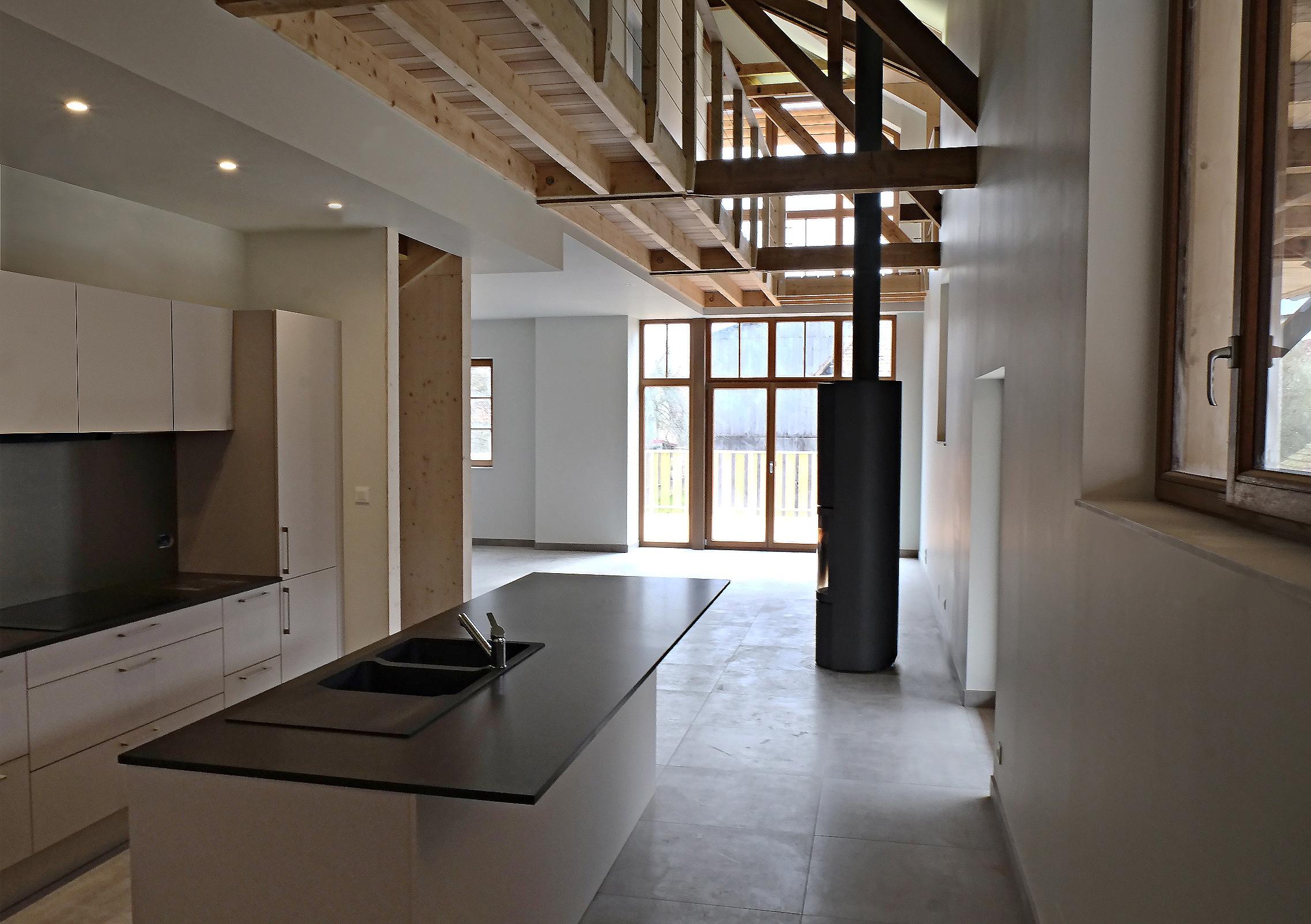 Garage Loft House
